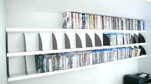 wall mount dvd shelf rack shelving wall mounted plans wall mount dvd shelf