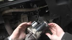 bodgit and leggit garage how to put in a starter motor