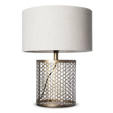 lamp hammered metal lamp elegant j hunt open metal circle pattern table lamp includes cfl