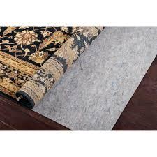 need superior reversible felt rug pad 79 x 109 free luxury what size rug pad do