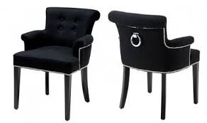 casa padrino luxury dining chair with armrests black los angeles from the luxury collection of casa padrino furniture restaurant barock hotel