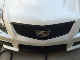 Attempt at swapping new ATS Cadillac badges onto my CTS-V - Need ideas