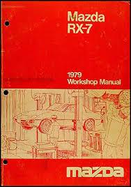 1979 mazda rx 7 original wiring diagram 1979 mazda rx 7 repair shop manual original 129 00