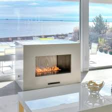 modern ventless gas fireplace modern vent free gas fireplace insert