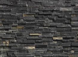 black stone wall texture. Wall Cladding Black Stone Texture E