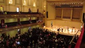 Boston Symphony Hall View From 2nd Balcony Right Upper Level