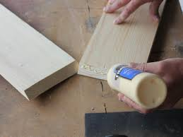 bpf original diy shadowbox step3a attach wood glue h