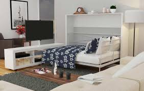 Ashton Murphy Bed with TV Stand | Black ...