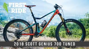 2018 Scott Genius 700 900 Tuned Bike Reviews Comparisons
