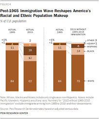 post 1965 immigration wave reshapes america s racial and ethnic potion makeup