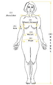 Women S Measurement Chart Body Body Measurement Chart Female Lamasa Jasonkellyphoto Co