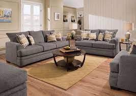 perth sofa set smoke gray