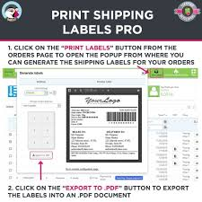 Free Printable Shipping Labels Print Shipping Labels Pro PrestaShop Addons 12