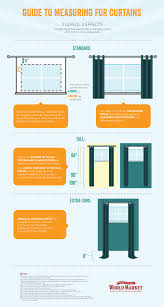 Guide To Measuring For Curtains World Market