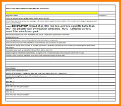 Sample Excel Checklist Template Awesome 48 Event Planning Checklist Template Excel Business Opportunity
