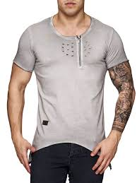 Bad Boy T Shirt Size Chart K D Men Asymmetrical Perforated Kanye Yeezy Style Ripped