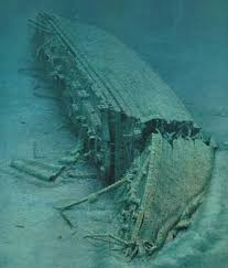 real underwater titanic pictures. Perfect Underwater Enlarge The Britannic And Real Underwater Titanic Pictures