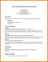 Resume Objective Examples Entry Level Customer Service Resume Objective Examples for Customer Service Krida 26