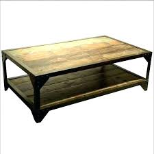 rustic wood and metal coffee table tables iron reclaimed wrought glass uk