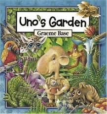 uno s garden by graeme base book unit