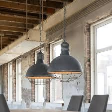 Hanglamp Grid Concrete Industrieel Design Met Betonlook