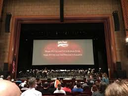 Dr Phillips Center Walt Disney Theater Seating Chart