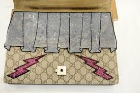 gucci bags dionysus. gucci monogram dionysus gg supreme embroidered shoulder bag bags