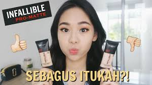 brutally honest l oreal infallible pro matte foundation review wear test you