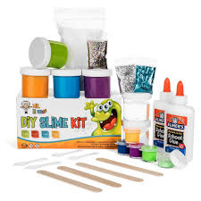 details about mr e mc² diy slime kit how to make 4 kinds of slime everything you need
