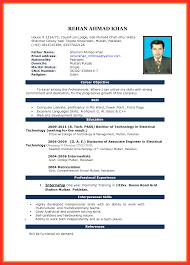 Latest Resume Format Resume Template Ideas