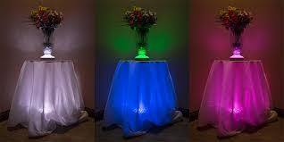 vase lighting. led centerpiece light 6 vase lighting d