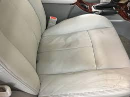 gmc envoy gray leather seat