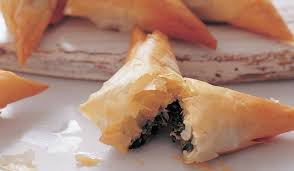 spanakopita spinach mint and feta pastries