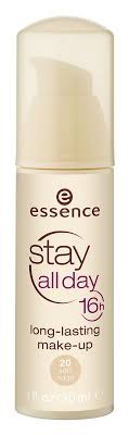 essence stay all day 16h long lasting makeup 20 soft loading zoom