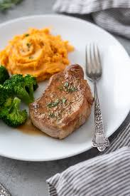 oven baked pork chops flavor the moments