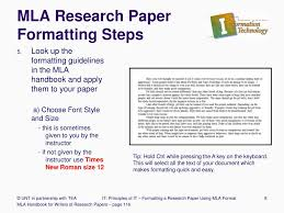 Mla Arch Paper Page Format Apa Homework Style Template In
