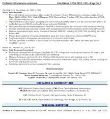 Professional It Resume Resume Writing Guild