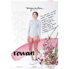 Bodysuit Sewing Pattern Beauteous Rowan Fitted Tee And Bodysuit Megan Nielsen Sewing Pattern 48