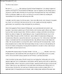Letters Of Dismissal Sample Letter From Work Appeal For Job