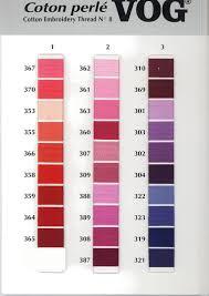 Dmc Pearl Cotton 8 Color Chart 5 Balls Vog 8 Pearl Cotton Perle Embroidery Thread Choose