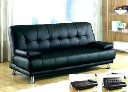 tons faux leather ton sofa bed couch black charming modern collection espresso folding futon black leather futon couch