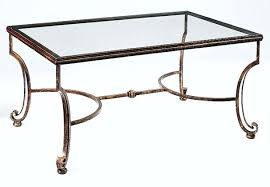 iron glass coffee table glass top cocktail tables new wrought iron glass coffee table wrought iron