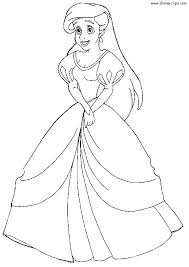 Princess Ariel Printable Coloring Pages Printable And Princess Page