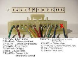 crx community forum \u2022 view topic gauge cluster wiring 1995 honda civic wiring diagram at 93 Civic Wiring Diagram