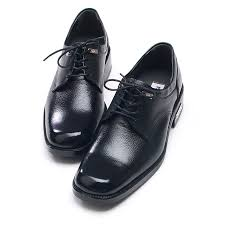 mens square toe balck cow leather oxfords lace up rubber sole dress shoes us5 5