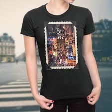 Avenue Plus Size Chart Amazon Com 8th Avenue Nyc Funny Graphic Tee T Shirts Tank