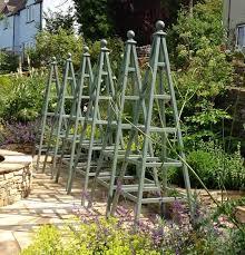 35 garden obelisks ideas garden