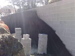 painting block wallPainting Cinder Blocks   Painted Concrete Block Wall In Cinder