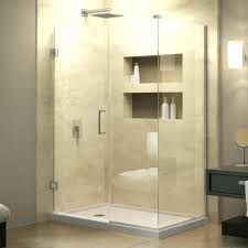 bathrooms 5 foot glass shower doors