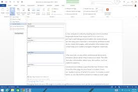 Title Page In Word And Number Header 2013 How To Make A Document Apa